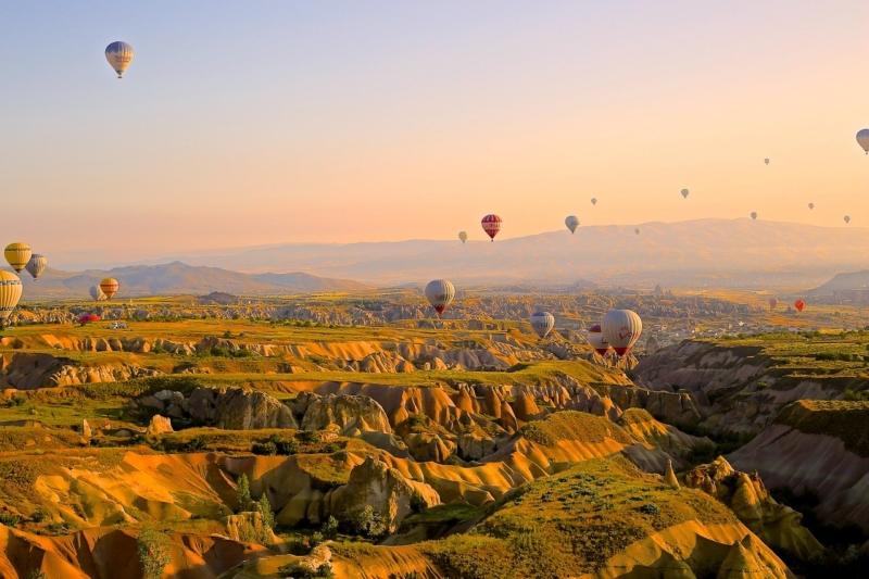 Tour de globos aerostáticos en Capadocia